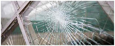 Leek Smashed Glass